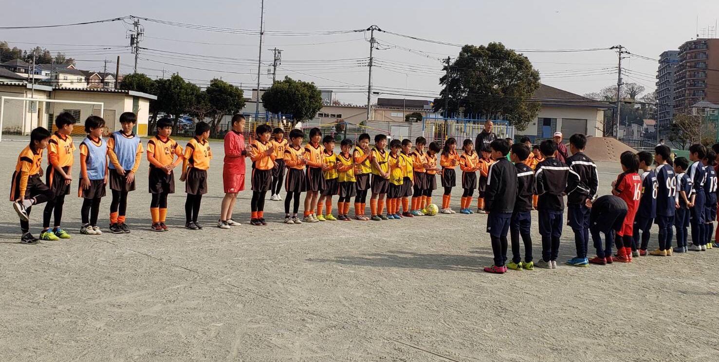 神奈川県綾瀬市を中心に活動する 綾南オレンジサッカー団